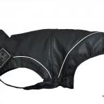 DogBite Regenjacke Hundemantel Flexible schwarz