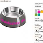 Personalisierte Hundenäpfe bei Hundeshop.de