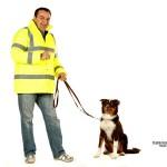 Individuelle Sicherheit  für Hund und Halter in der Dunkelheit.