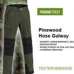 Test der Pinewood Galway Damenhose